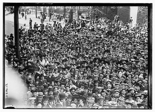 Photo: Theodore Roosevelt crowd,Yonkers,N.Y.,Westchester County,New York,October - Ny County Yonkers