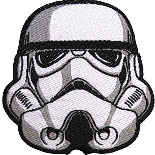 Star Wars Official Stormtrooper Helmet Dark Side Force Lucasfilm Iron On Patch