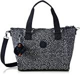 Kipling Womens Amiel Top-Handle Bag Multicolour (Dot Dot Dot)
