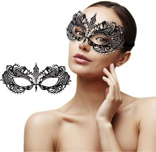 Prom Angels Halloween Party October 2020 Amazon.com: Masquerade Mask for Women Venetian Shiny Rhinestone