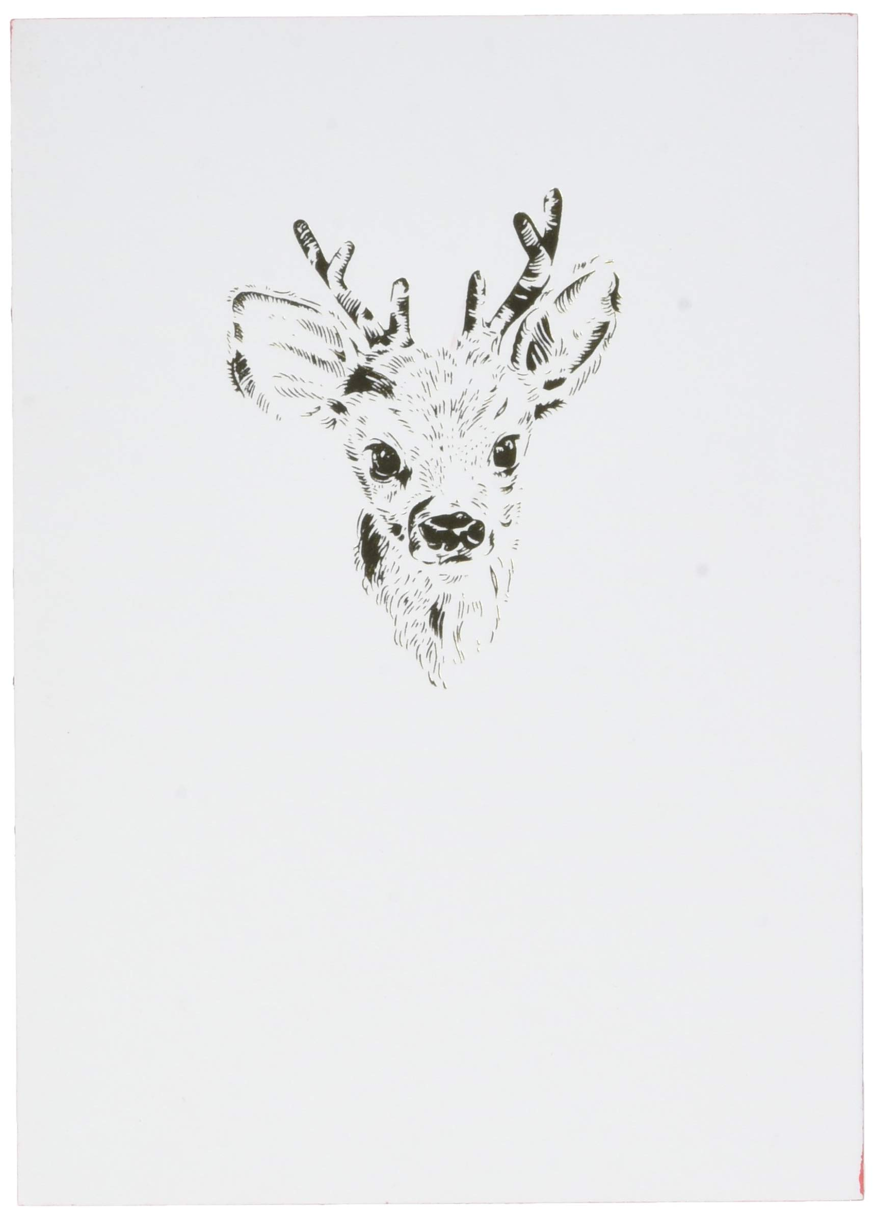 Editions Oberthur 588278Papette Notebook A6Gold Fever Deer