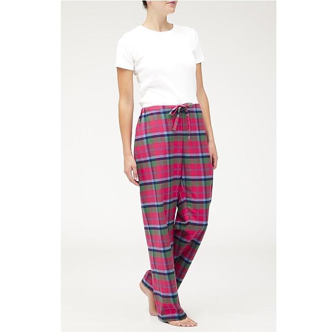 Amazon.com: Los Irlandeses Lino Store Pantalón Sarah Pajama ...