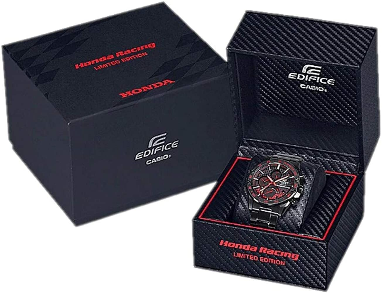 Casio Edifice Honda Racing Limited Edition - Reloj cronógrafo de ...