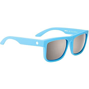 0840a4f4b48a7a Spy Lunettes de soleil Discord Bleu mat Noir  Amazon.fr  Sports et ...