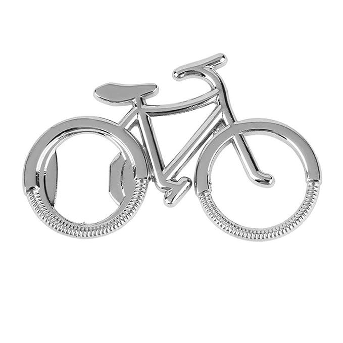 Bicicleta Metal Cerveza abridor de botellas Llaveros lindos para ...
