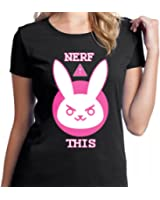 NERF this overwatch logo vr for women T shirt