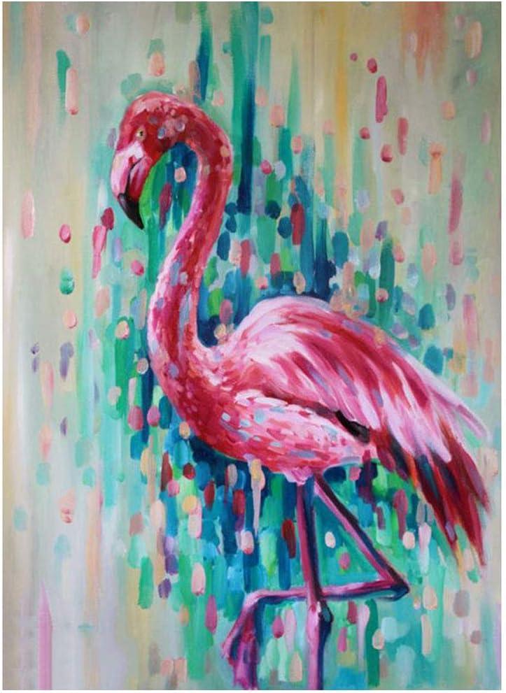 Love Flamingo Full Drill 5D Diamond Painting DIY Dots Cross Stitch Kits Decor