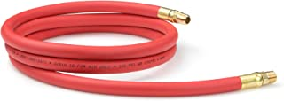 product image for TEKTON 46133 3/8-Inch I.D. by 6-Foot 300 PSI Hybrid Lead-In Air Hose with 1/4-Inch MPT Ends