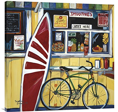 """Global Gallery GCS-127495-3636-142 """"Suzanne Etienne Surf Shack"""" Gallery Wrap Giclee on Canvas Print Wall Art from Global Gallery"""