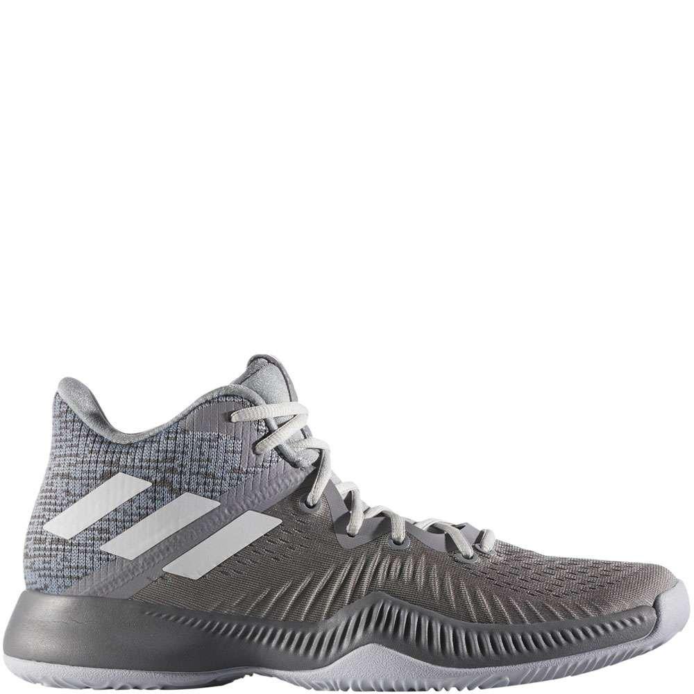0f158c8b2 Galleon - Adidas Men s Mad Bounce Grey Three White Grey Four 10.5 D US