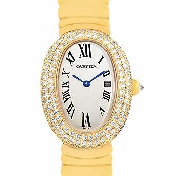 Amazon Com Cartier Baignoire Quartz Female Watch 1950 Certified