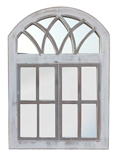 Amazon.com: The Urban Port The Wooden Frame Window Wall Panel with ...