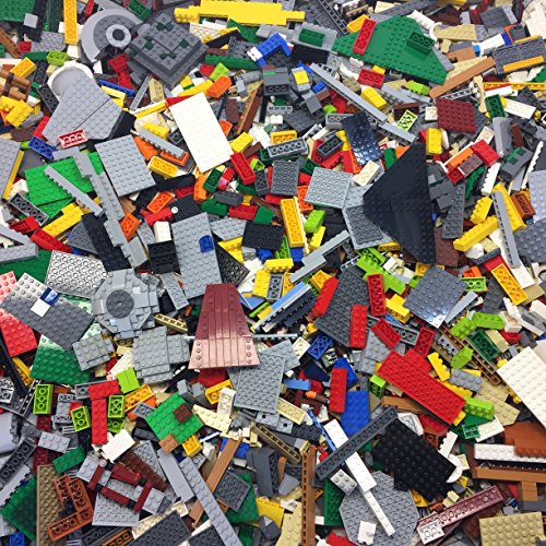 DIY 100% GENUINE LEGOS ~TEN (10) POUND Lego Bulk Lot~ Assorted and Random Colors~ Excellent Assortment ~ Clean ~ Perfect to Add to Your Collection ~ HUGE COST SAVINGS ~ (Assorted 10 Pound)