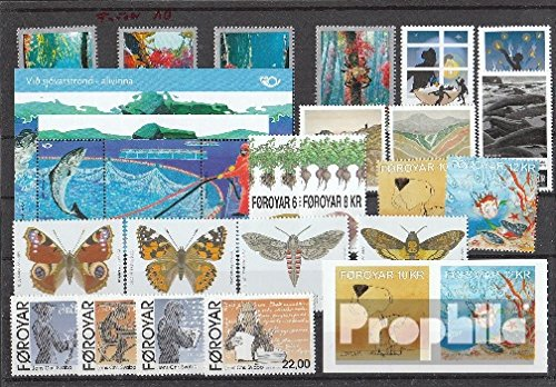 Denmark - Faroe Islands 2010 Complete Volume in Clean Conservation (Stamps for Collectors)