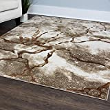 Vogue Area Rug by Home Dynamix, 4326-17 Beige | Abstract Pattern, Modern Elegance | Indoor Rug for the Living Room, Dining Room, Bedroom or Even Your Office | Soft and Cozy, Easy to Clean Review