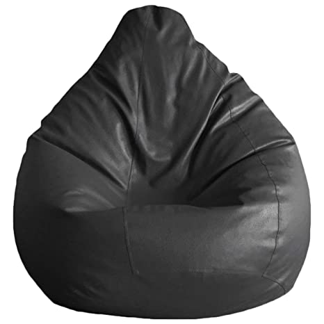 Amazon.com: Cozy Signature Leather Bean Bag Cover Without ...