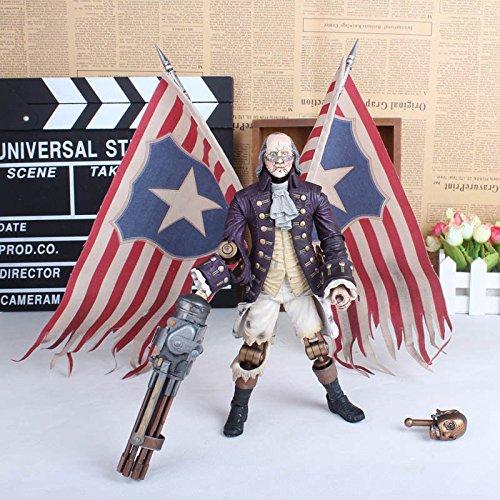 Nicky's Gift George Washington Motorized Patriot BioShock Infinite 9 Action Figure