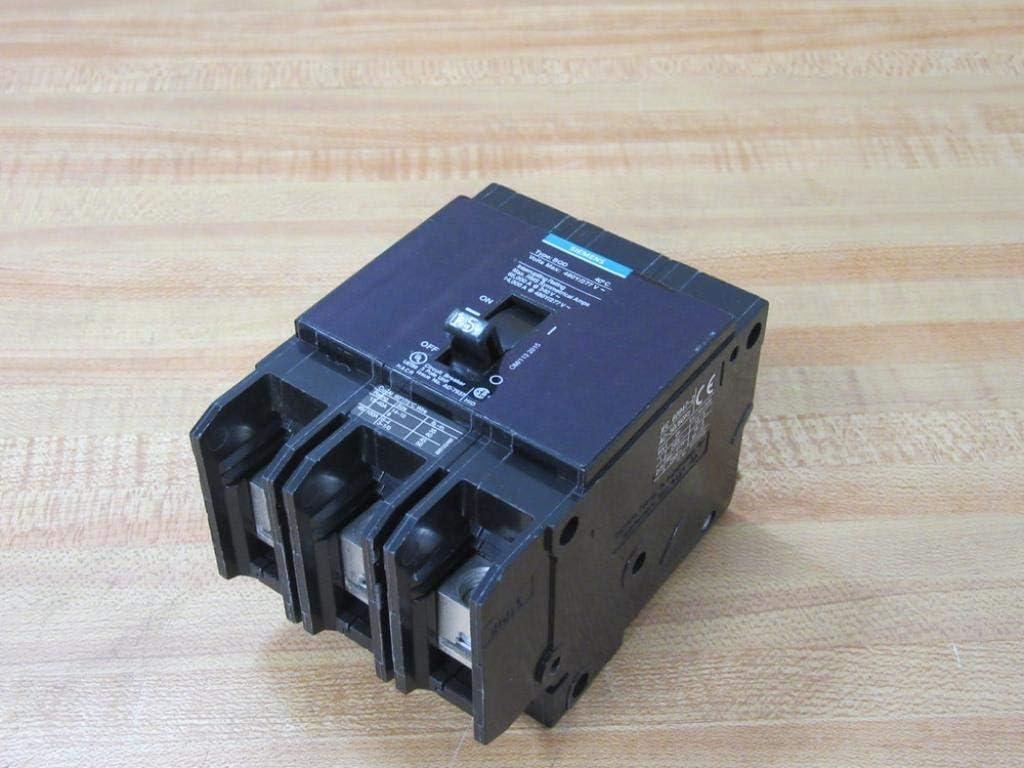 Siemens BQD315 15-Amp Three Pole 480Y/277V AC 14KAIC Bolt in Breaker