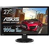ASUS 27型 フルHD ワイドディスプレイ ( 応答速度1ms / 1,920×1,080 / HDMI×1,Dual-link DVI×1,D-sub×1 / スピーカー内蔵 / VESA規格 / 3年保証 ) VG278HV