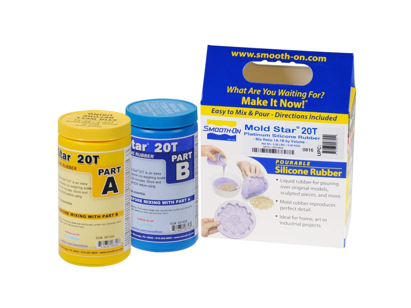 Mold Star 20T Silicone Mold Making Rubber - Trial Unit product image