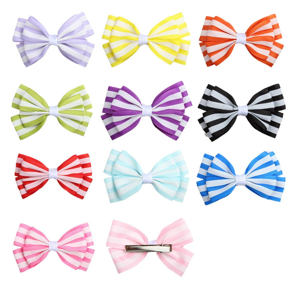 Great for Baby Shower,Birthday MUUZONING 9 PCS Cute Baby Girls//Boys Headband Set Elastic Turban Head Dress Hair Bow Hair Wraps Hairbands For Toddler Kids Photography,Costume,Party Christening Gift#5