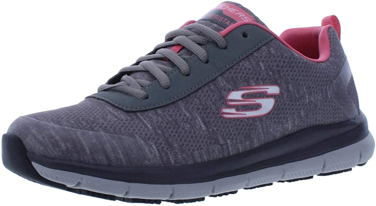 Blanco Cargado Definitivo  Skechers Women's Comfort Flex Sr Hc Pro Health Care Professional Shoe:  Shoes - Amazon.com