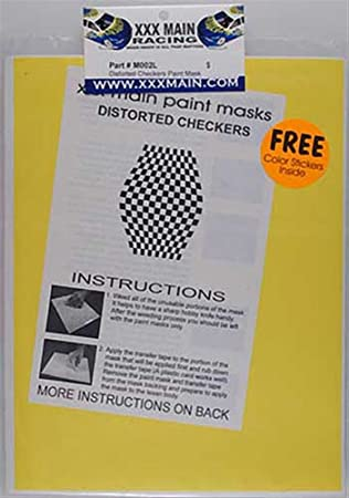 XXX principal Racing m002l pintura máscara distorsionada damas xxxc0002