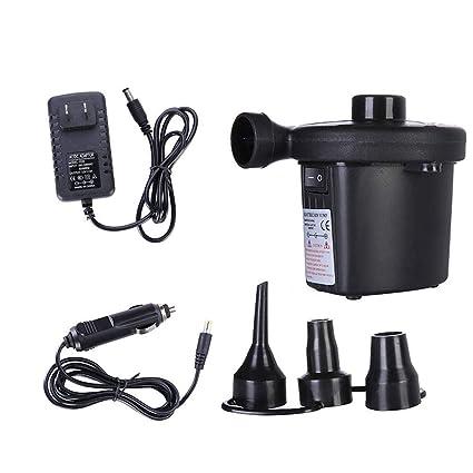 Amazon.com: Auwish - Bomba de aire portátil eléctrica ...