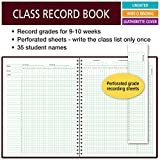 Class Record Book for 9-10 Weeks. 35