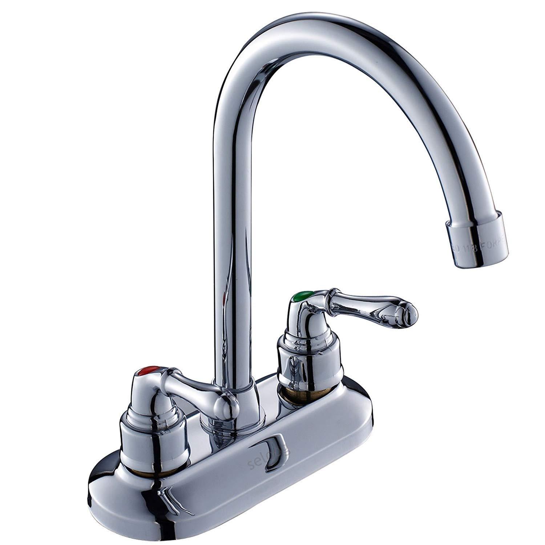 CQSMOO Waschbecken Wasserhahn Moderne Einfache Mode Hause Bad Wasserhahn Waschtischarmatur by