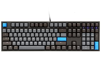 bf4988a8833 Amazon.com: Ducky One 2 Skyline (Cherry MX Blue) Keyboard: Computers &  Accessories
