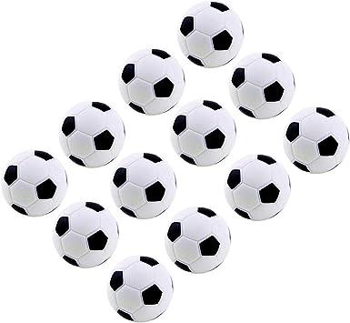 MINGZE 12 Piezas de fútbol de Mesa, Bolas de Repuesto para futbolín, Bolas de reemplazo de