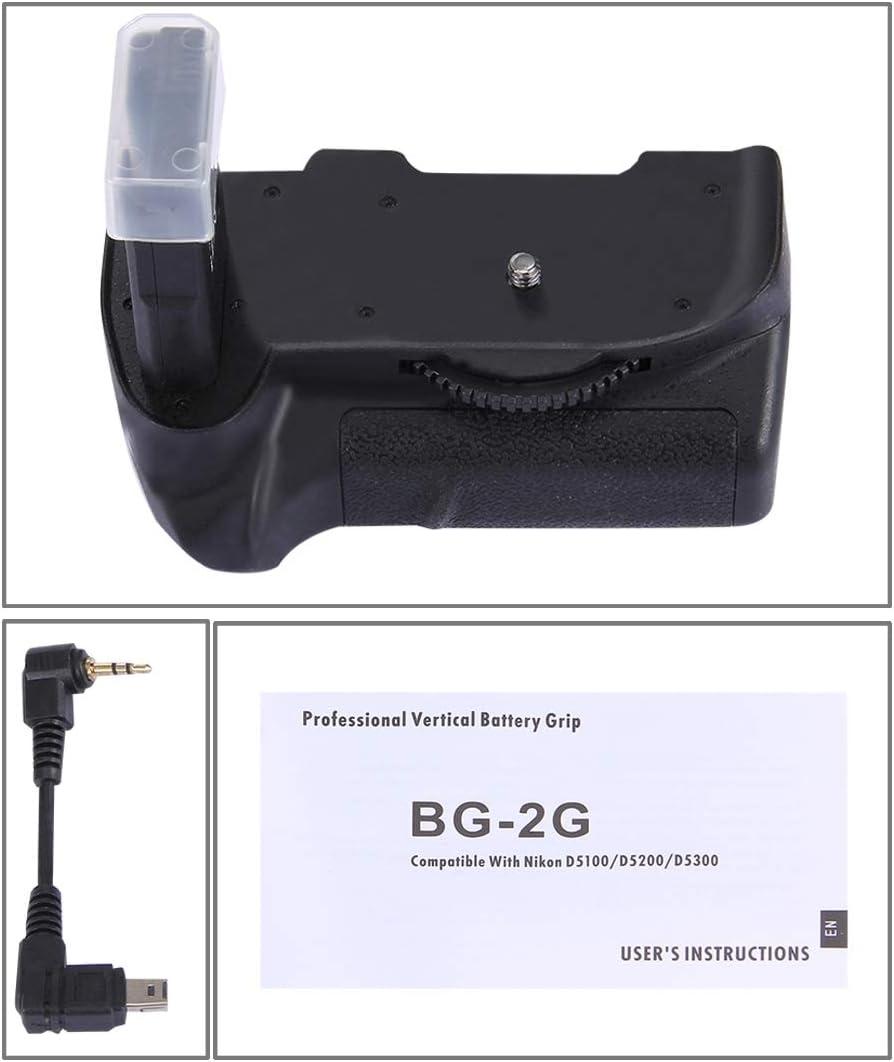 D5200 D5300 Digital SLR Camera Vertical Camera Battery Grip Various Types of Digital Camera Battery Grip Professional Brand Durable and Professional for Nikon D5100