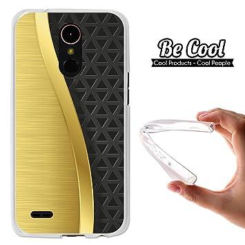 Becool® - Funda Gel Flexible para LG K10 2017, Carcasa TPU ...