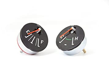 Omix-Ada 17209.01 Fuel and Temperature Gauge Set on