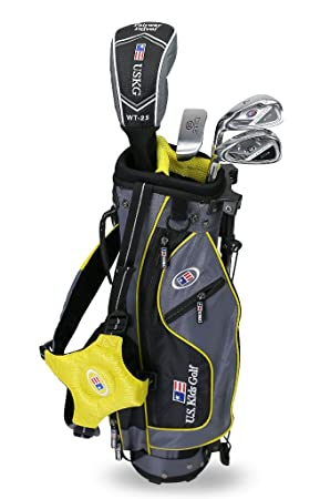 US Kids 2017 Golf Ultra Light, 4 Club Soporte Juego de Golf con Bolsa (42 cm)