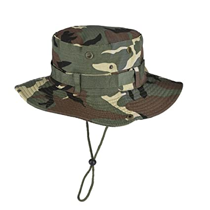 Eastlion Army Military DPM Camo Outdoor Sun-Shading Sun Boonie Bucket  Camouflage Bucket Hat Hat 5190c71a569