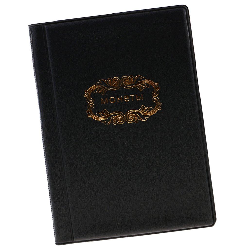 mini tasca per soldi album da collezione 120 porta monete Collezione di monete da collezione di alta qualit/à