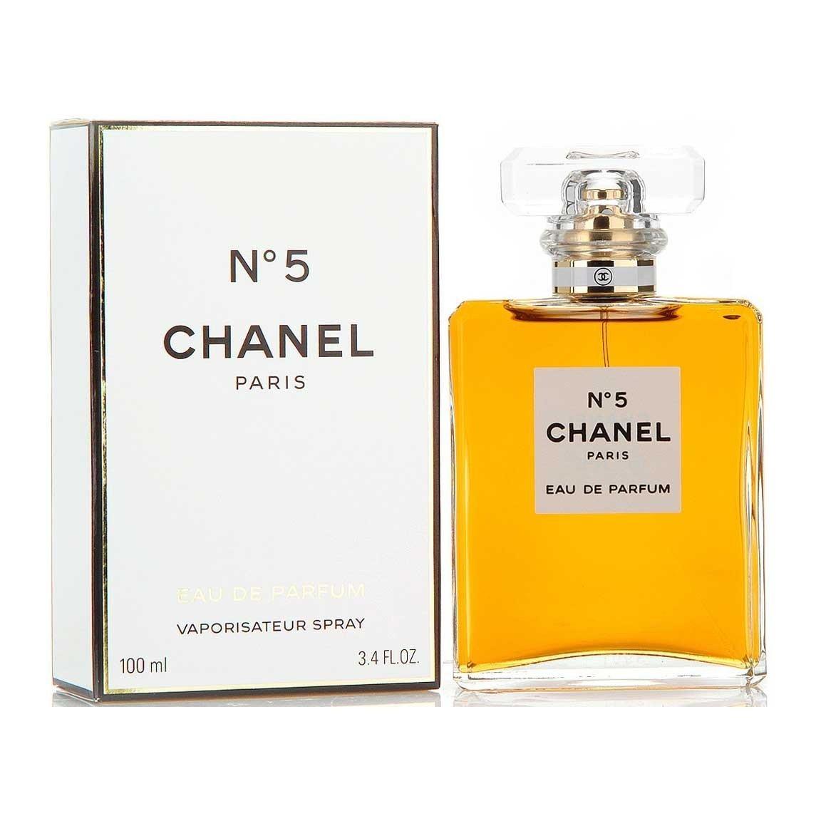 Amazoncom C H A N E L No 5 Eau De Parfum 34 Oz 100 Ml Spray
