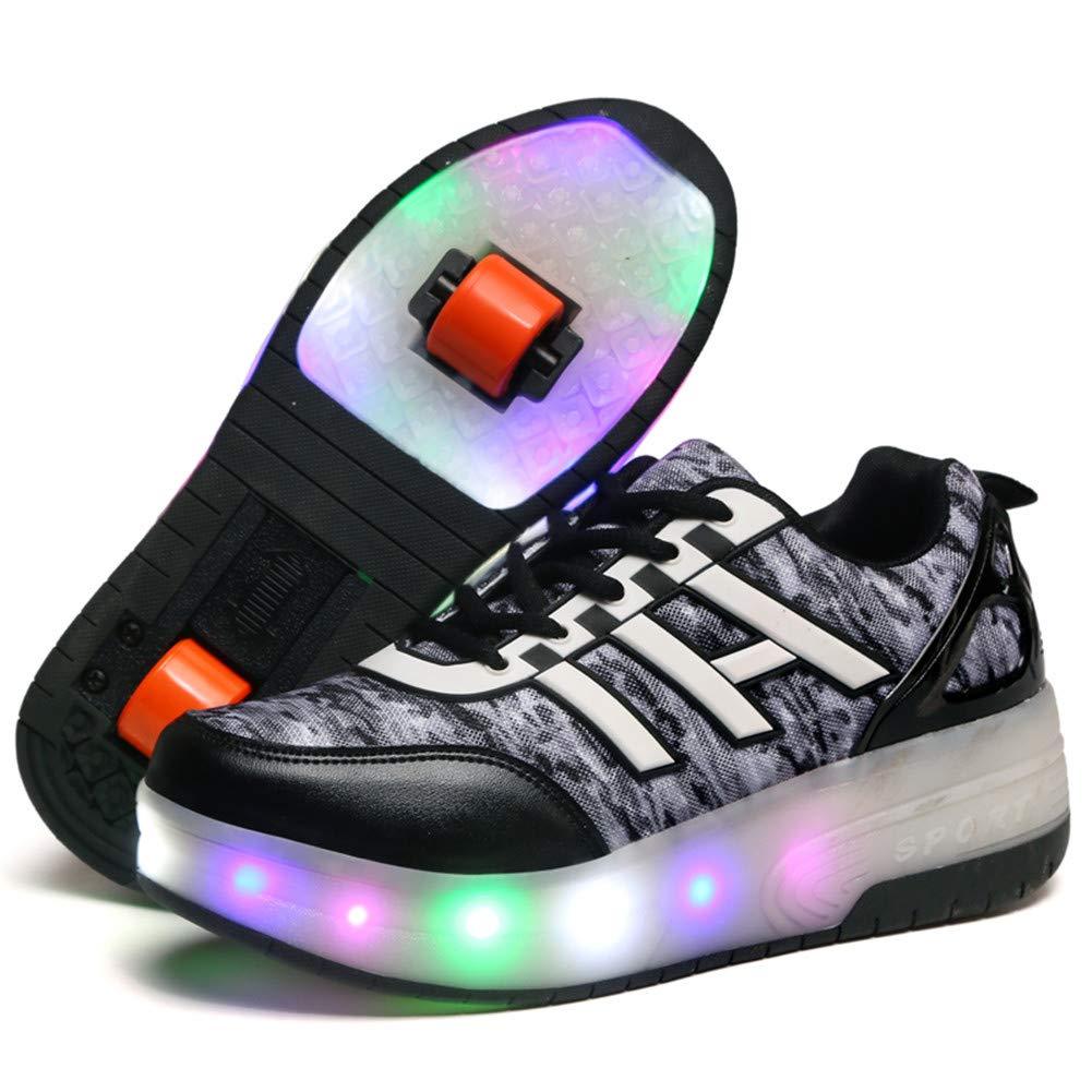 Viken Viken Viken Azer-UK Laufschuhe Sportschuhe Kinder Skateboard Schuhe Kinderschuhe mit Rollen LED Skate Schuhe Trainer Turnschuhe Rollen Schuhe für Junge Mädchen B07CQQ4C2J Basketballschuhe Eleganter Stil d0dc4d