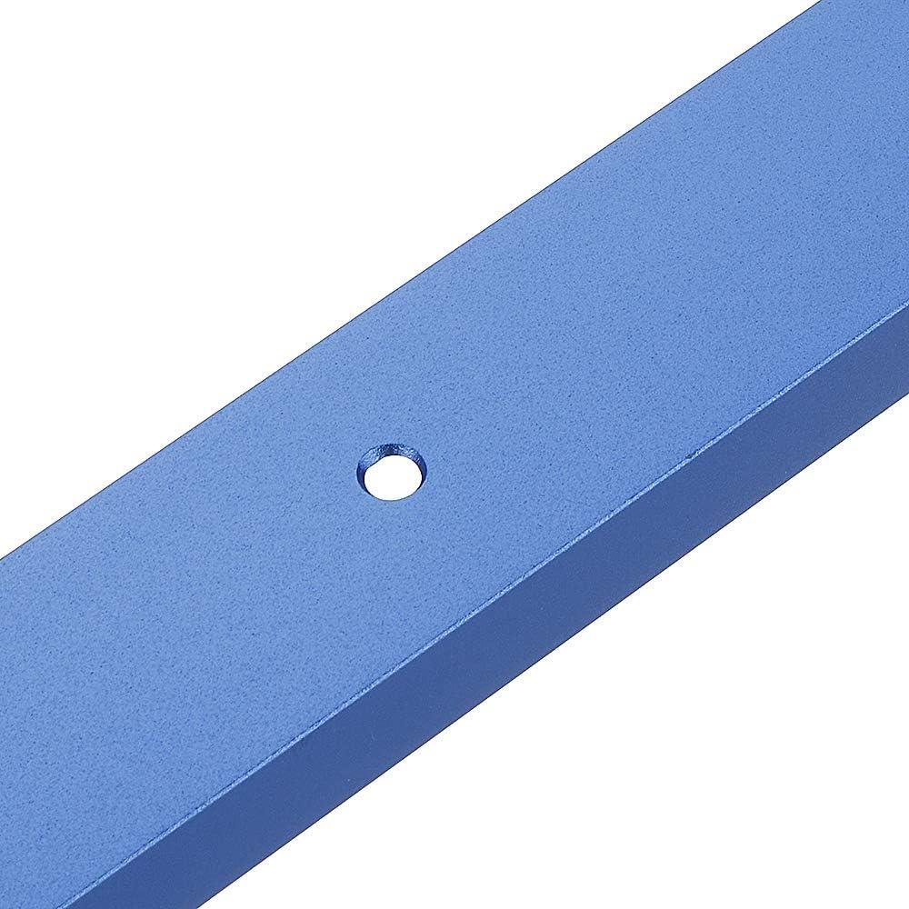 d/éfonceuse et outils de travail du bois Bleu 300-1200 mm 30 x 12,8 mm belupai Rail /à onglet en T pour scie /à table