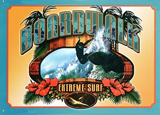 Shunry Extreme Surf Placa Cartel Vintage Estaño Signo Metal ...