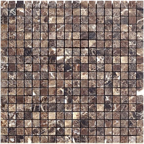 1  Brown Natural Stone Mosaic Emperador Polished Marble Limestone Raumdesign Heilbronn