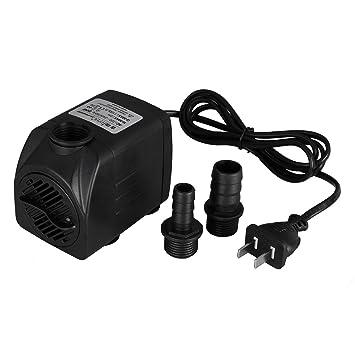 Amazon Com 2 Nozzles 1100l Submersible Pump Fountain Water Pump