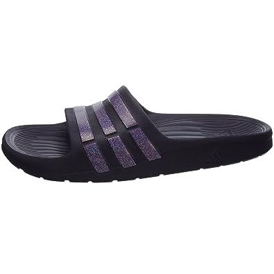 99a554f7b50f1 Adidas Duramo Slide K G62933 Girls Slides   Pool sandals   Shower sandals  Purple 3