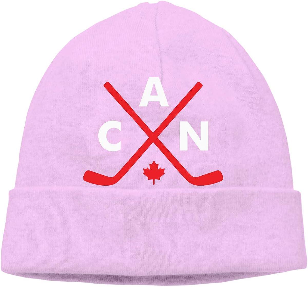 Q10 Men Women Canadian Hockey Soft Skull Cap Soft Hat