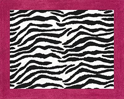 Funky Zebra Accent Floor Rug By Sweet Jojo Designs from Sweet Jojo Designs