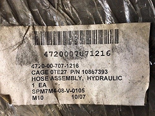 D. W. Industries, Inc. 18 ft. Nonmetallic Hydraulic Hose Assembly 10867393 M-88