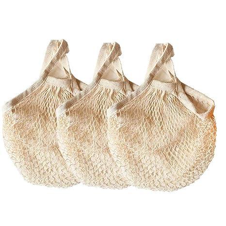 Amazon.com: Ahyuan Bolsas de comestibles cordón de ...