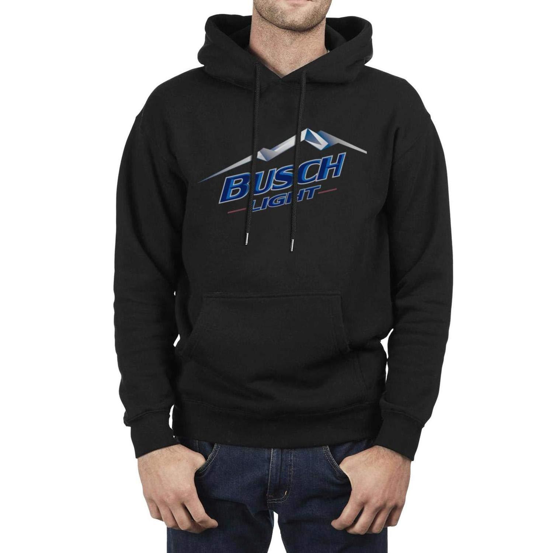 Hoodie for Men jkthtr rtgjrtg Sweatshirt Vintage Busch-Light-Beer-Logo